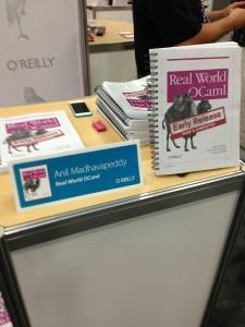 Real World OCaml book signing
